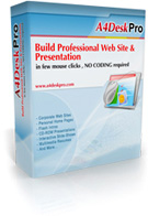 A4DeskPro Flash Website Builder