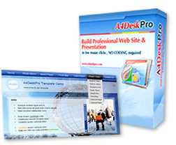design website using top website builder - A4DeskPro