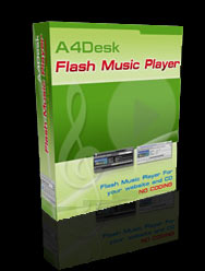 Flash Music Player